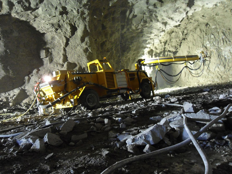 Gallery Underground Mining Machines