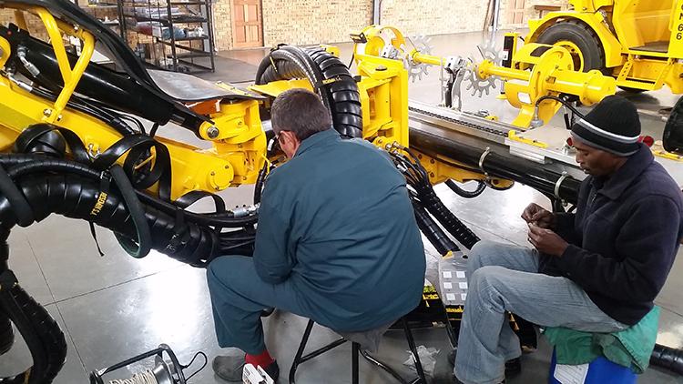 Services Underground Mining Machines