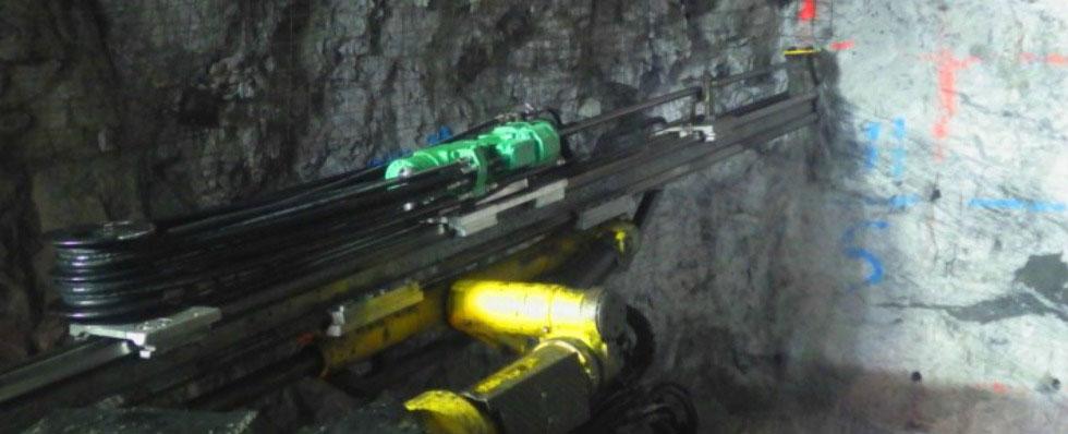 Hc95 Installed In Different Rigs Underground Mining Machines