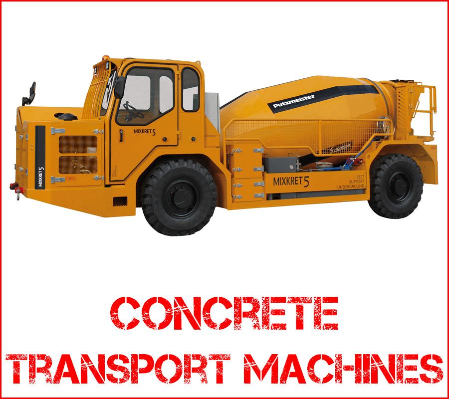 Concrete-transport-machines