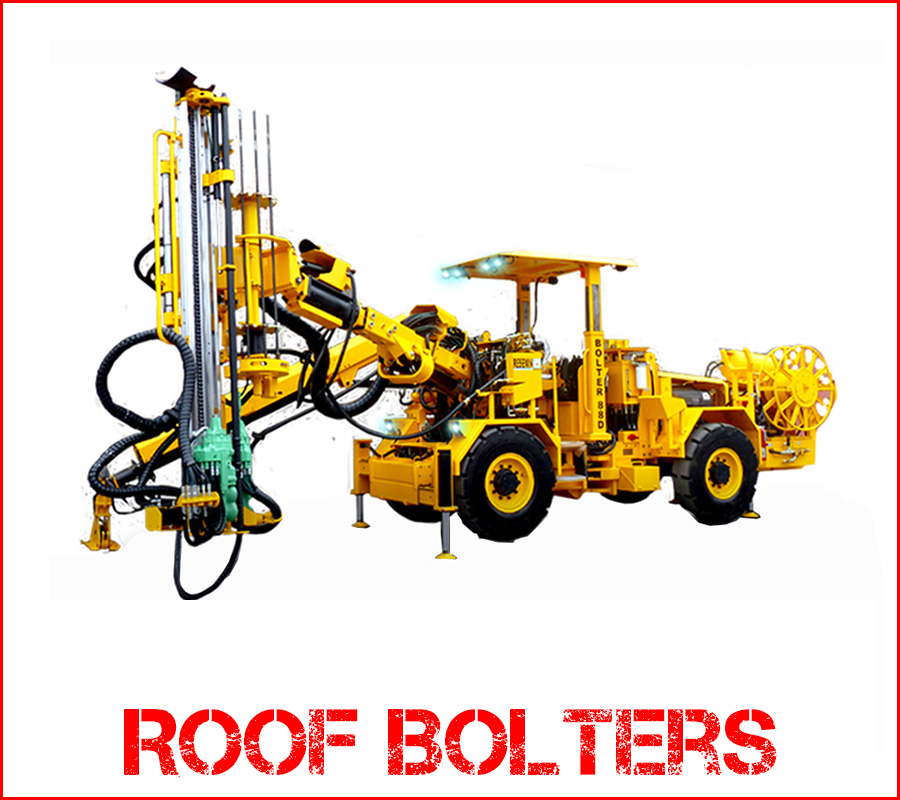 roof-bolter