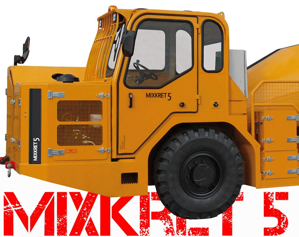 SMP 4210 Wetkret concrete spraying machine